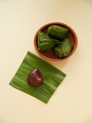Black Glutinous Rice Kuih Koci
