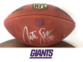 Nate Solder Autographed Football
