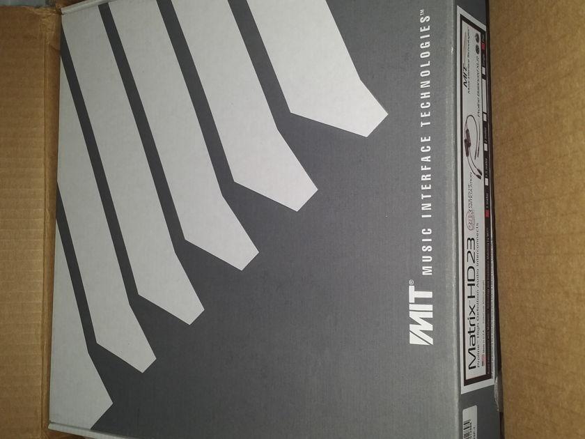 MIT Cables Matrix HD 23 1M XLR Like New in Box