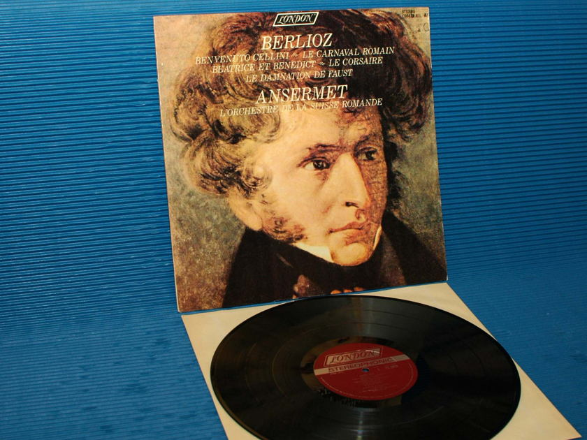 "BERLIOZ / Ansermet   - ""Carnival Romain"" - London 1965 early pressing"