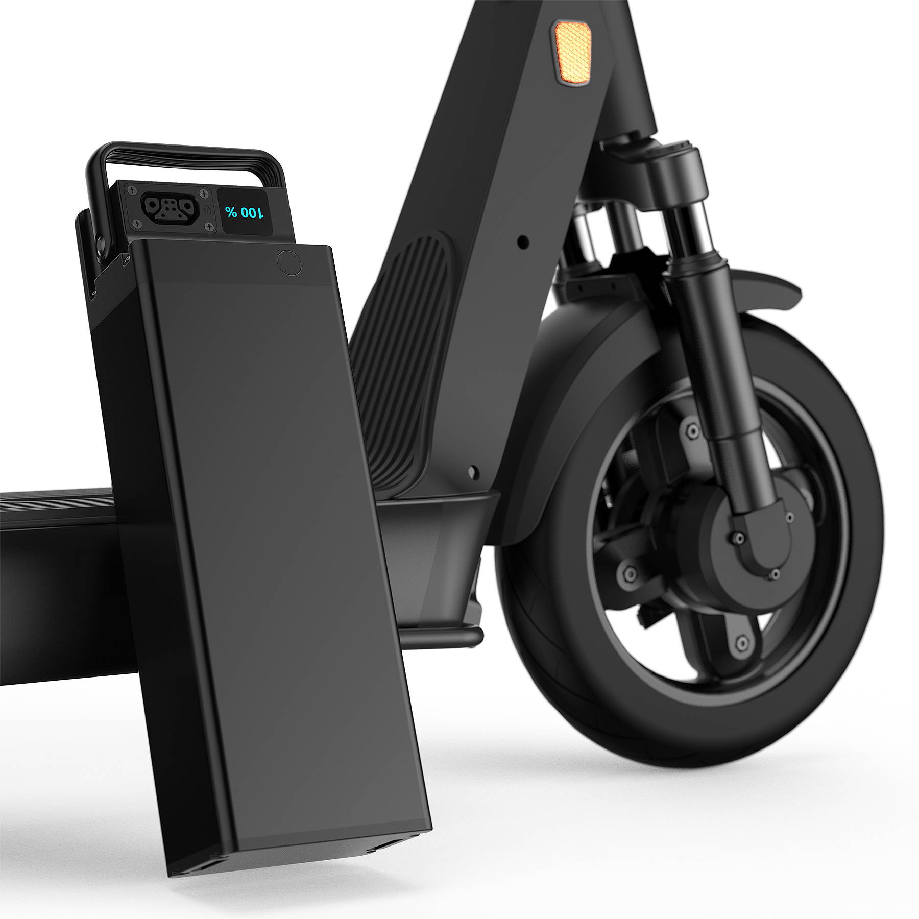 Okai Electric Scooter & Electric Bike Manufacturer, ES400 Electric Scooter With Swappable Battery