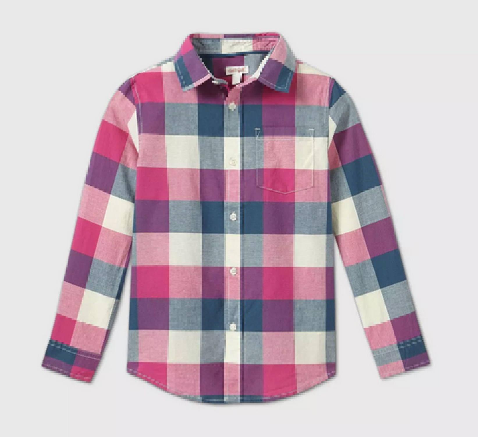 Ring Bearer Plaid Shirt