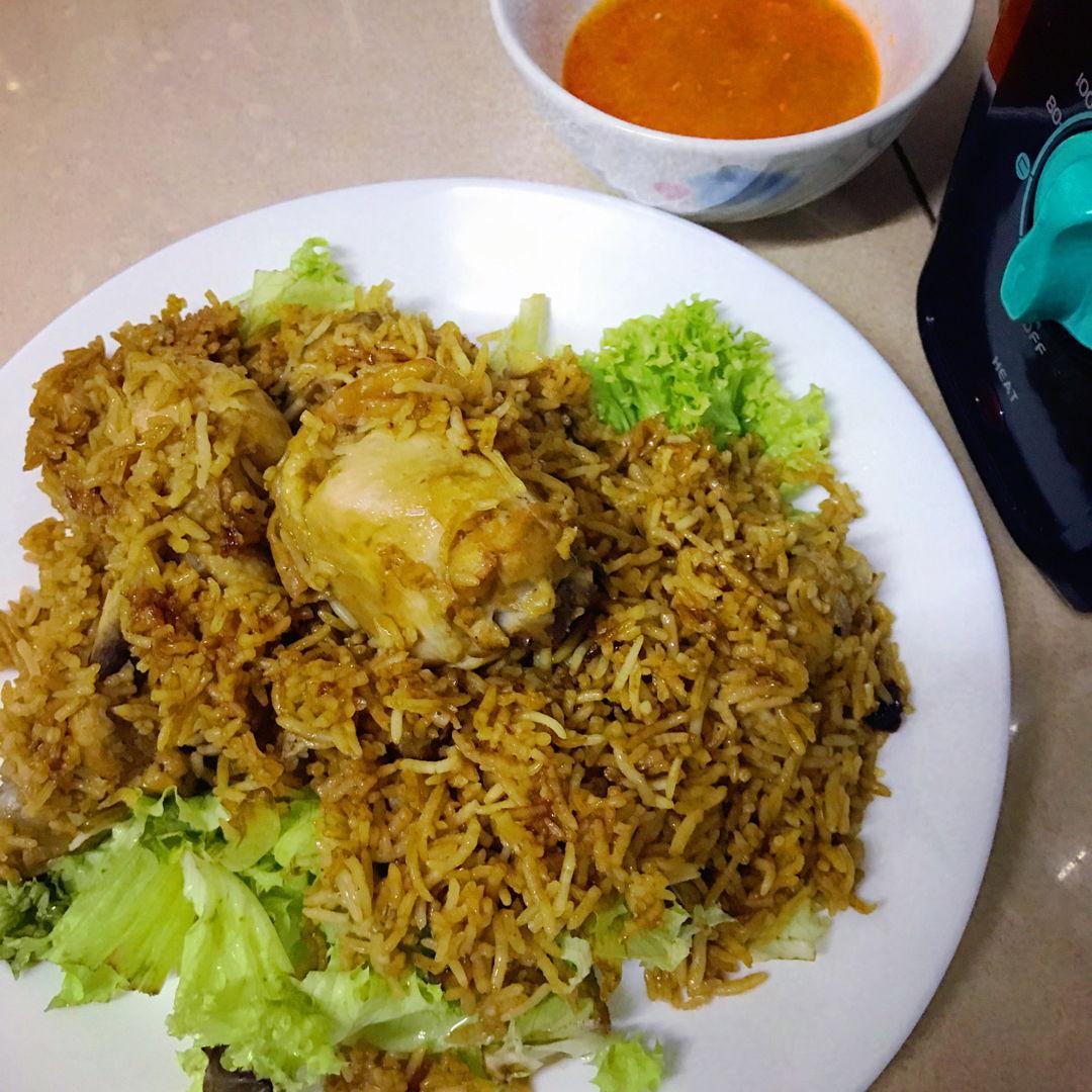 Claypot Chicken Biryani Rice