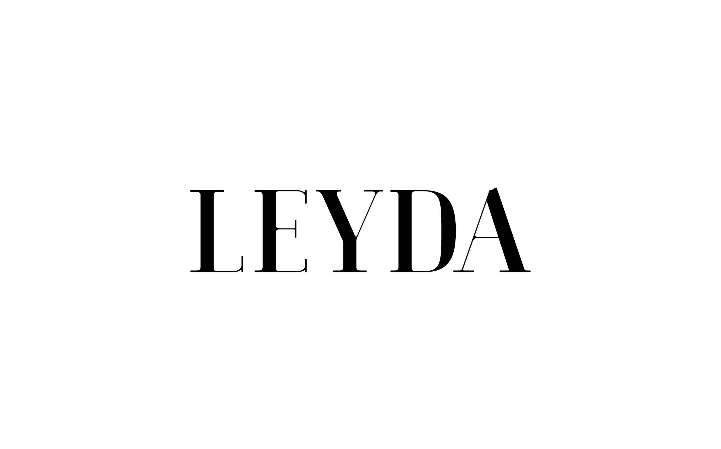 Leyda - Custom sexy type collection by Moshik Nadav Typography
