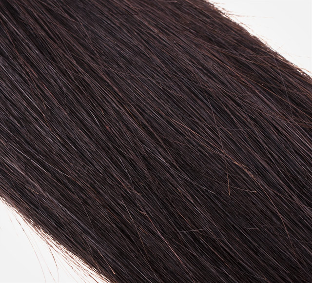 Straight Brazilian Hair Extensions Bundle Detail Mavyenn