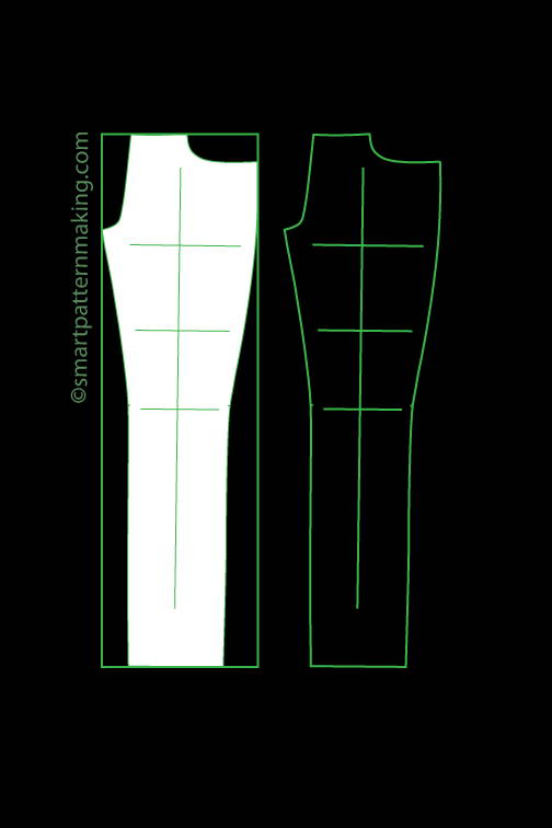 Pants digitizing, pattern digitizing