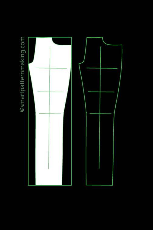 Pants digitizing, pattern digitizing