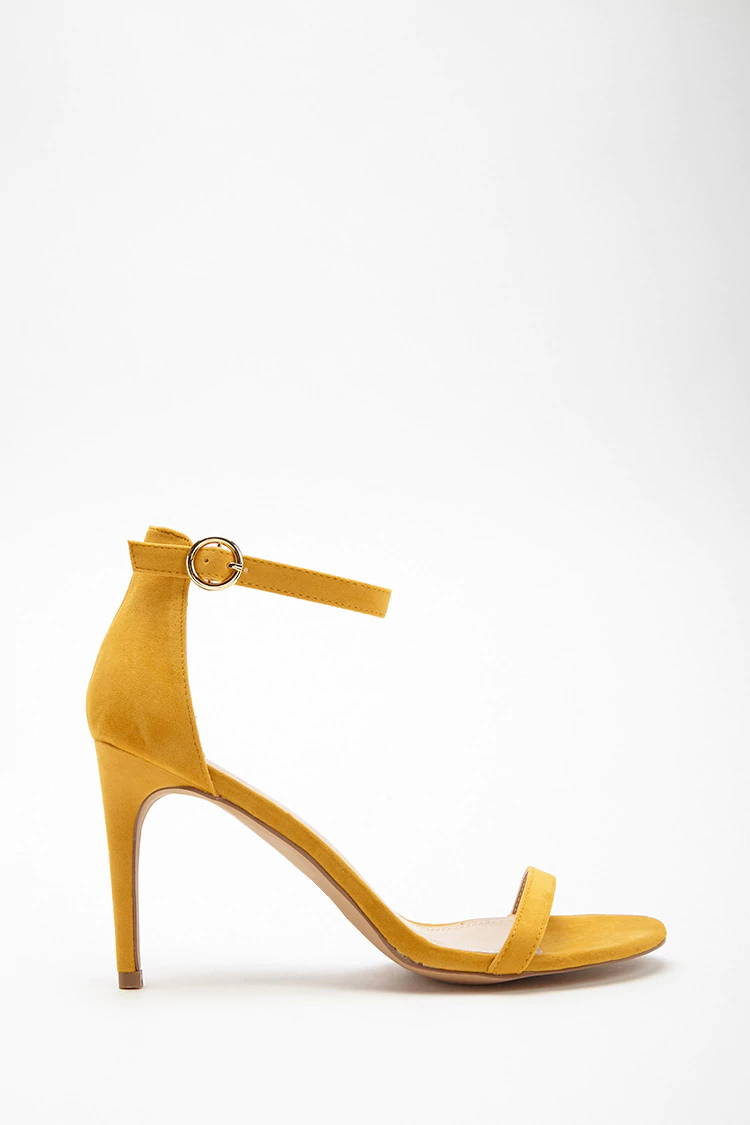 yellow spring shoes from forever 21