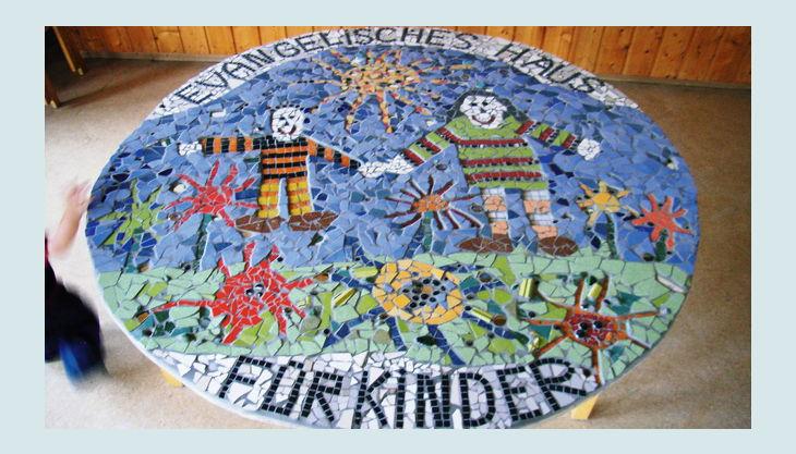 atelier farnsworth mosaik platte kinder