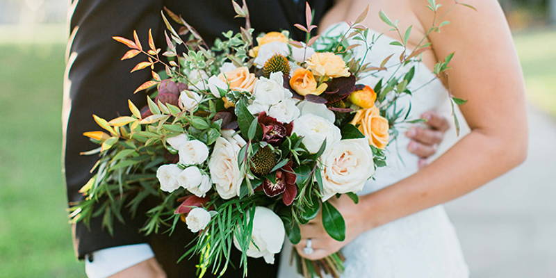Who gets wedding personal flowers?
