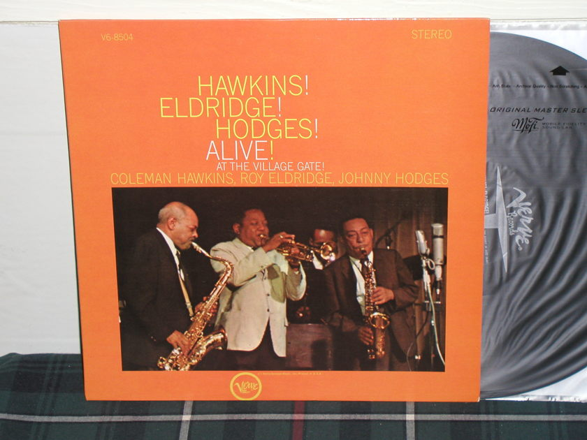 Coleman Hawkins - Alive! At The Village Gate (Pics) Verve STEREO from 60's