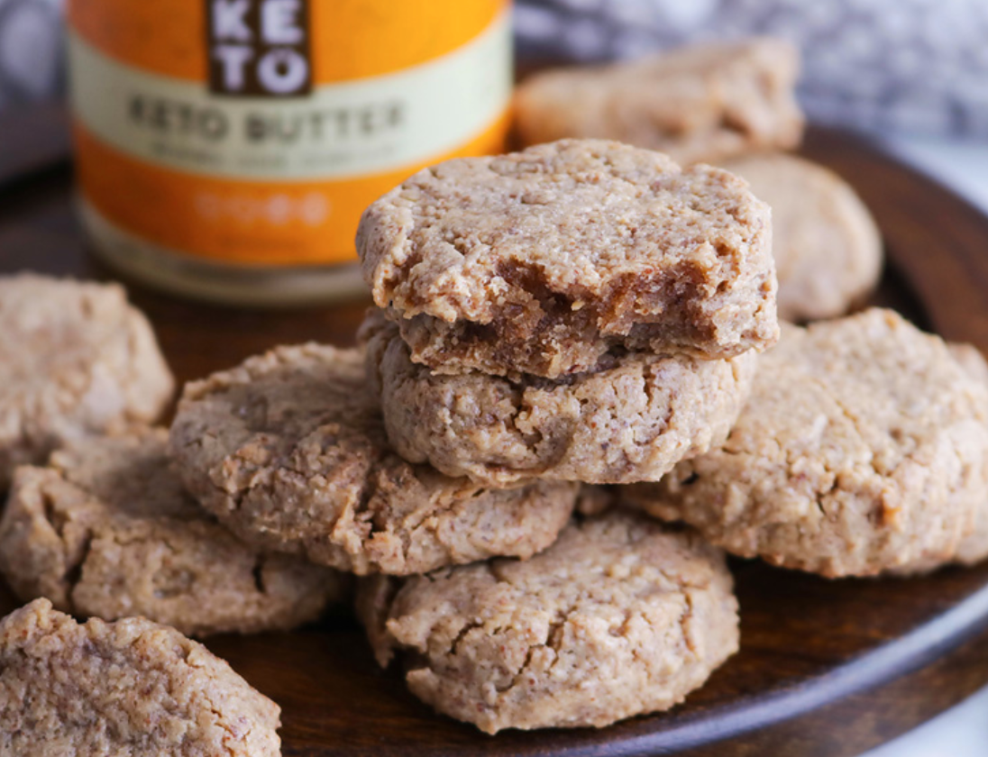 Perfect Keto Nut Butter Cookies