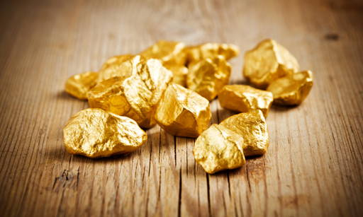 Colloidal gold to stimulate collagen