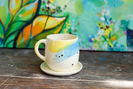 2 чашки под эспрессо в современном стиле