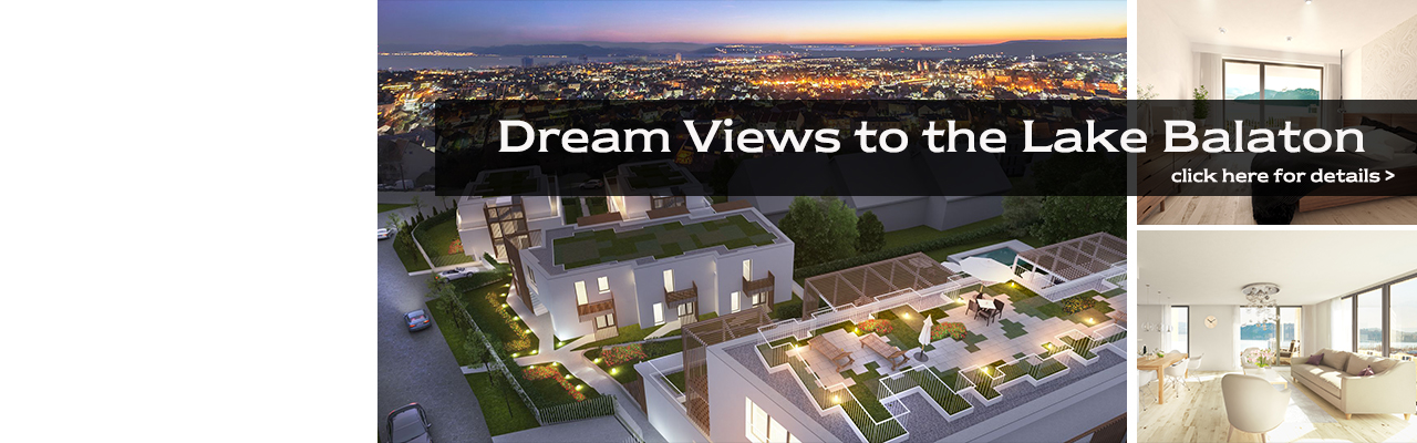 Real estate in Budapest - Dream Views to the Lake Balaton