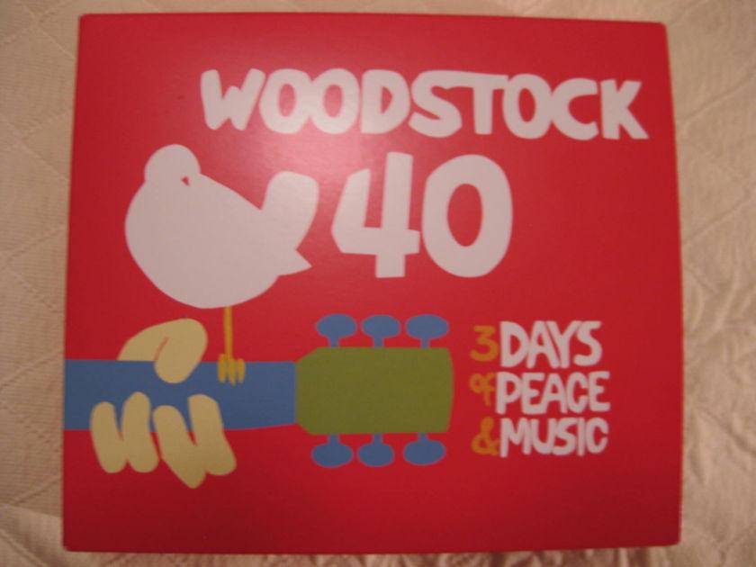 VARIOUS - WOODSTOCK 40 6 CD SET