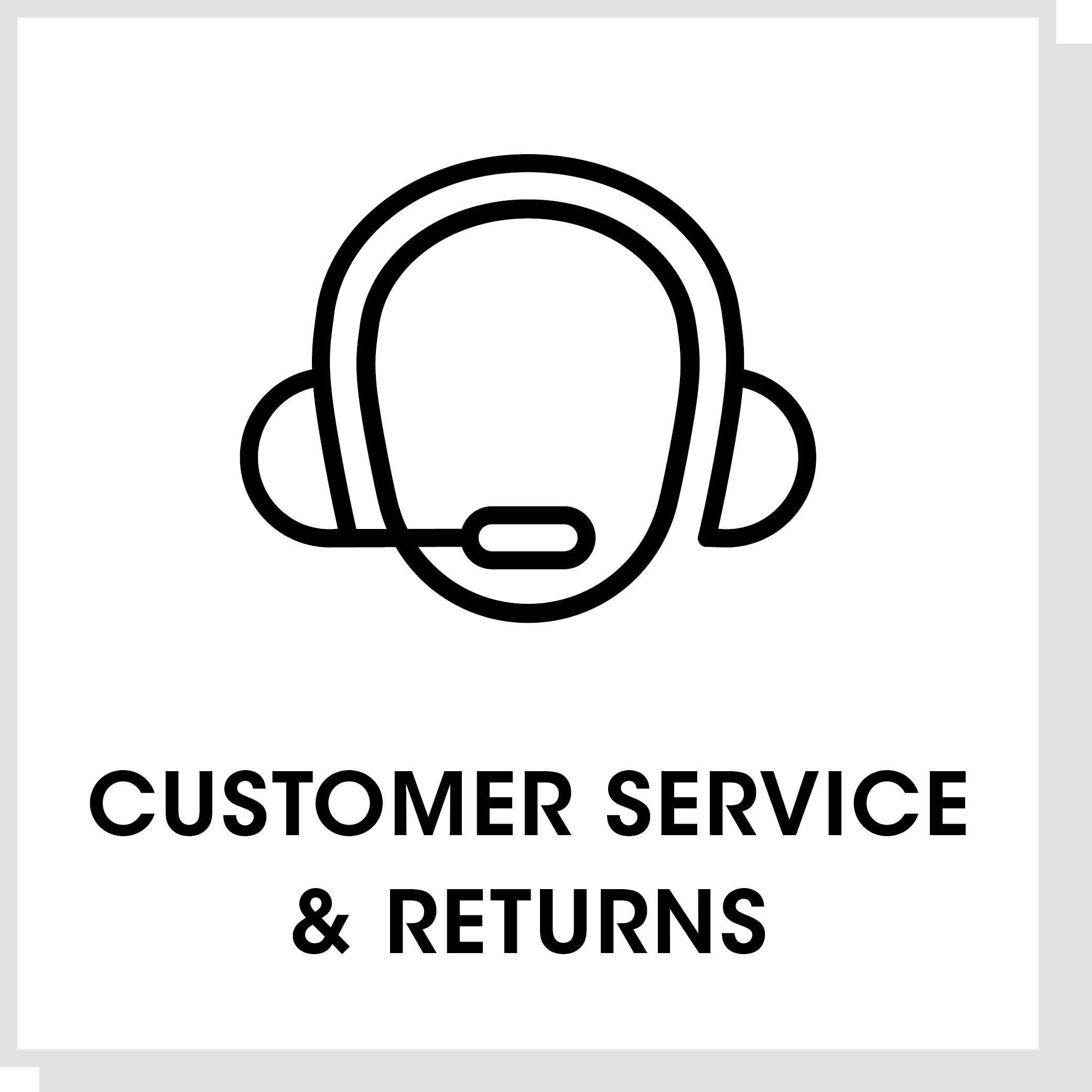 Customer Service & Returns