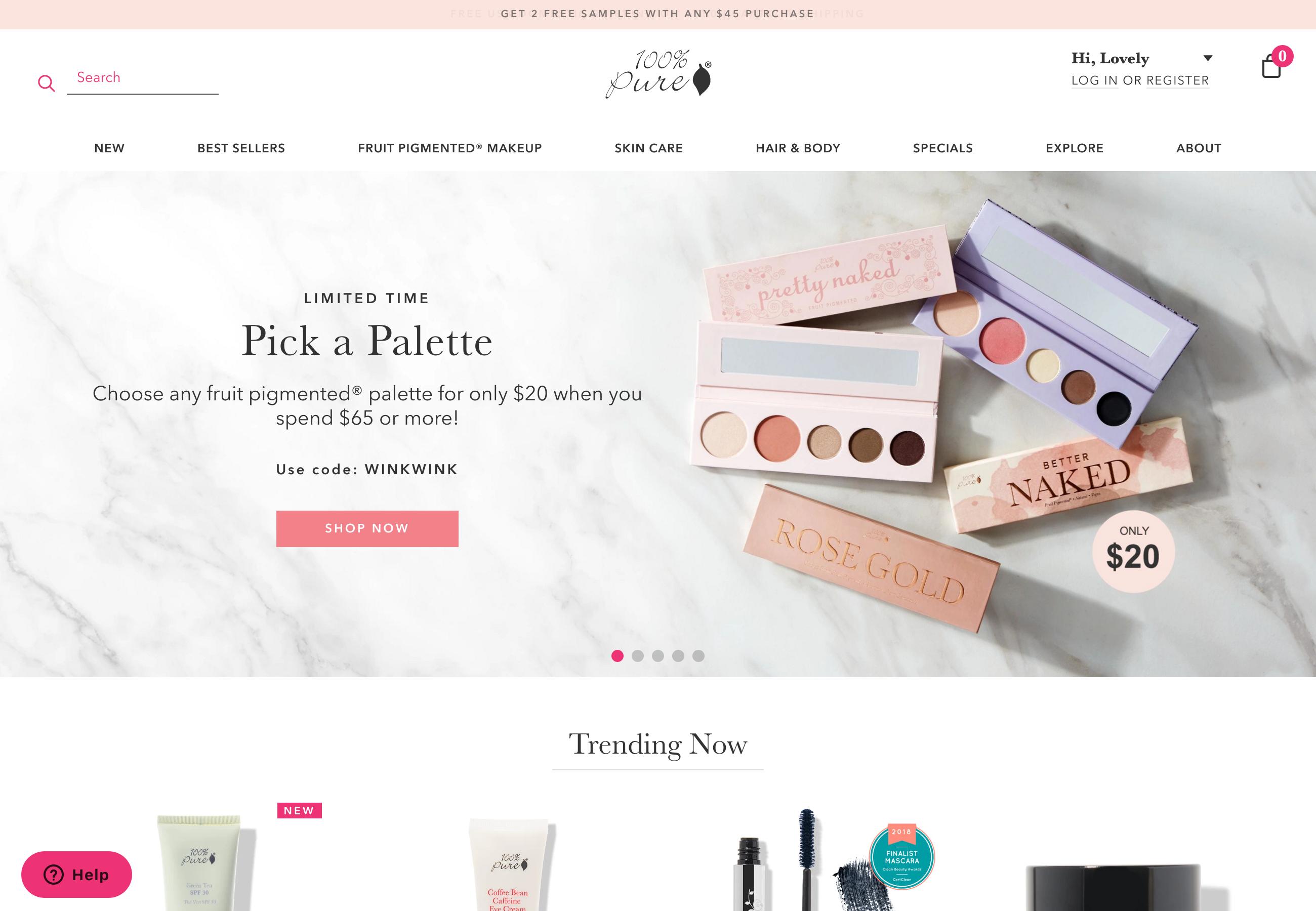 42 Examples Of Inspiring Beauty Websites