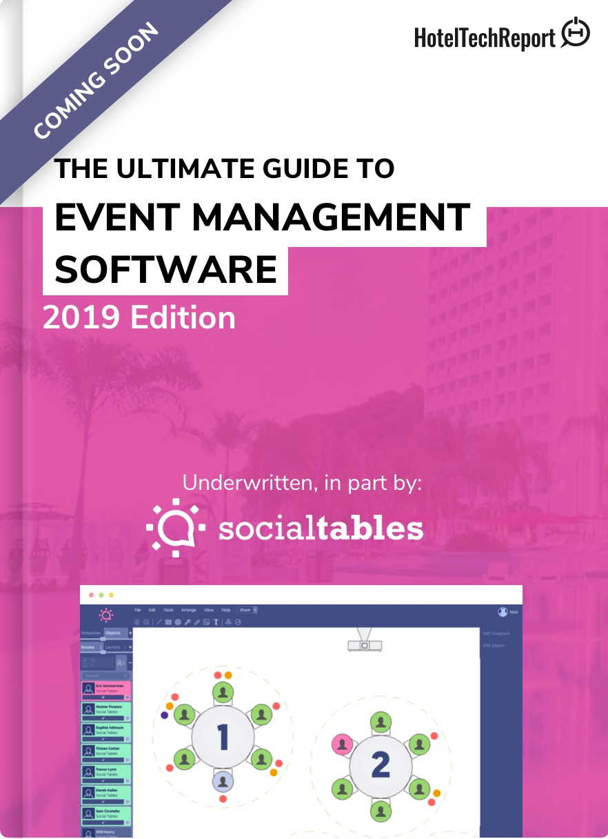 The Hoteliers Guide to Event Management Software (coming soon)