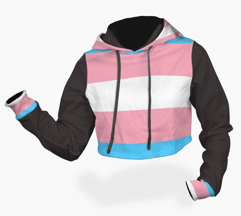 crop top trans fashion