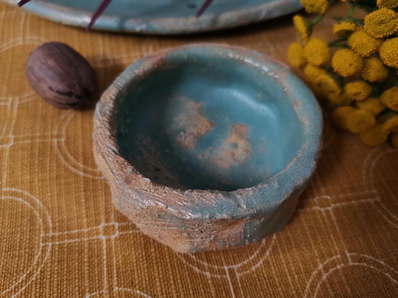 """Набор """"Греческий остров"""" (2 тарелки, 2 соусника, салатник) под заказ (10 дней)"""