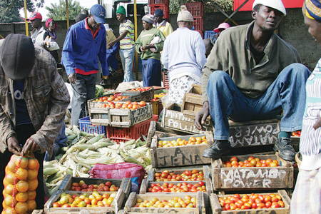 Colorful Harare with Local Markets