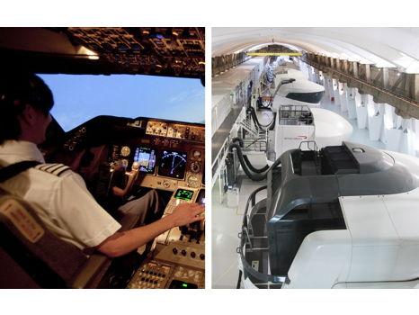 FLY A PLANE ON A BRITISH AIRWAYS FLIGHT SIMULATOR