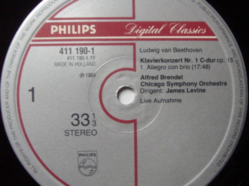 Philips Digital / BRENDEL-LEVINE,  - Beethoven Complete Piano Concertos, NM, 4LP Box Set!