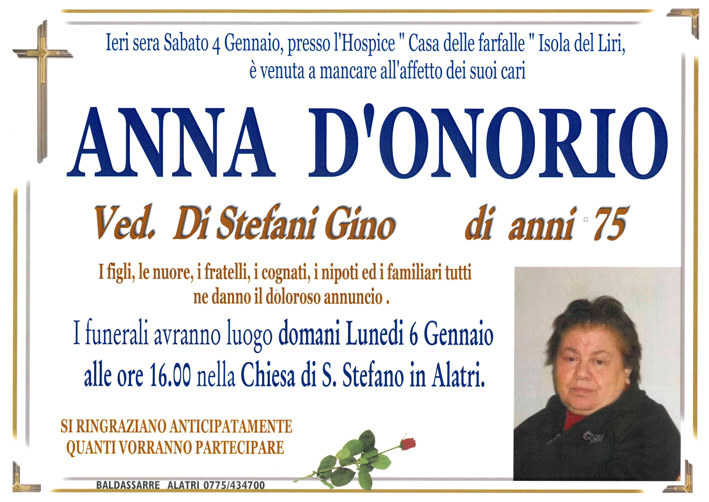 Anna D'Onorio
