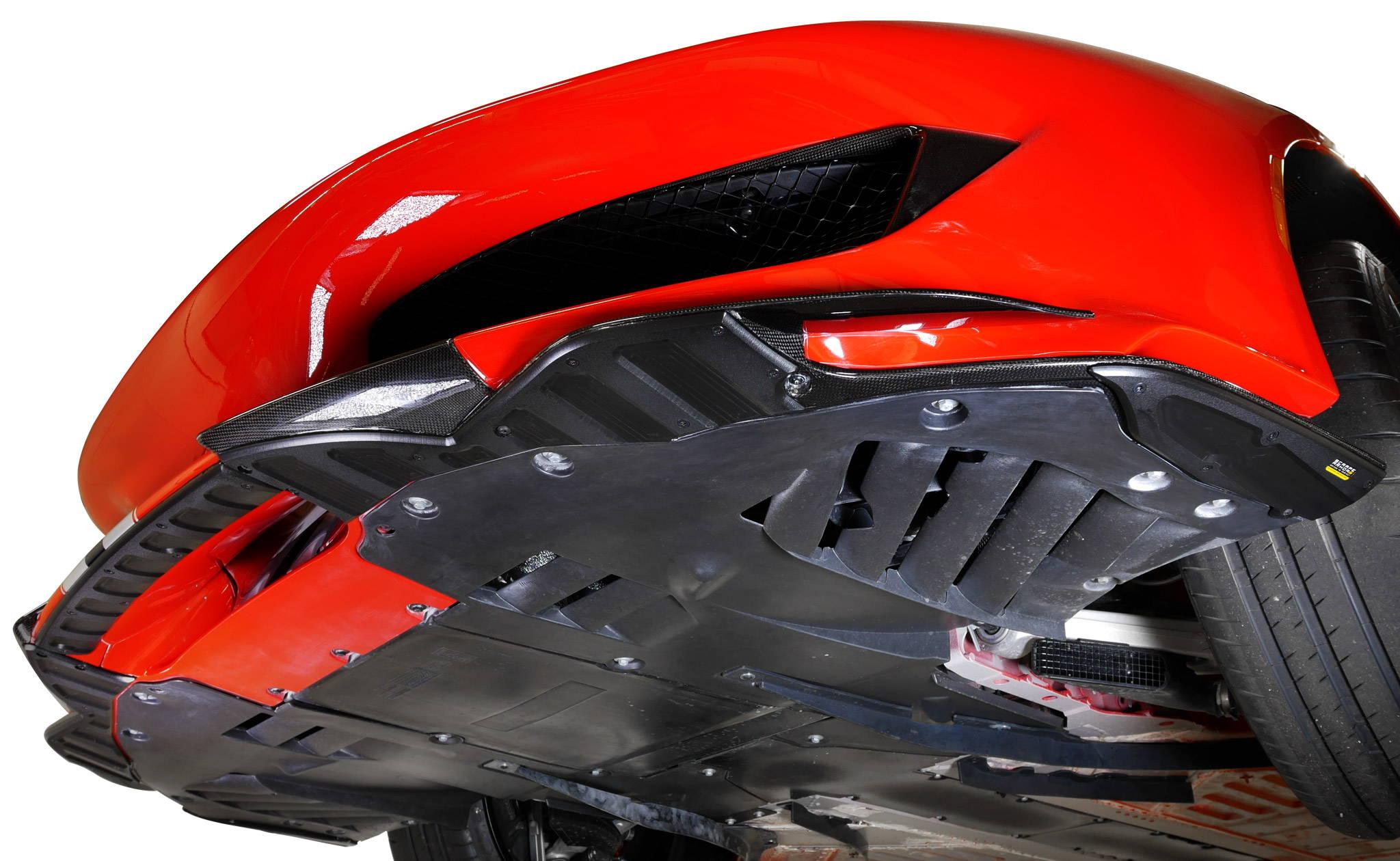 Ferrari 488 Pista Skid Plate Scrape Armor