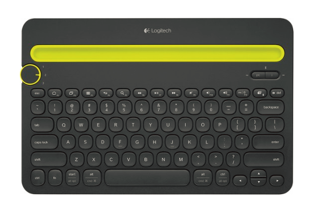 RENTERS BAY: Logitech - K480 Bluetooth Multidevice Keyboard