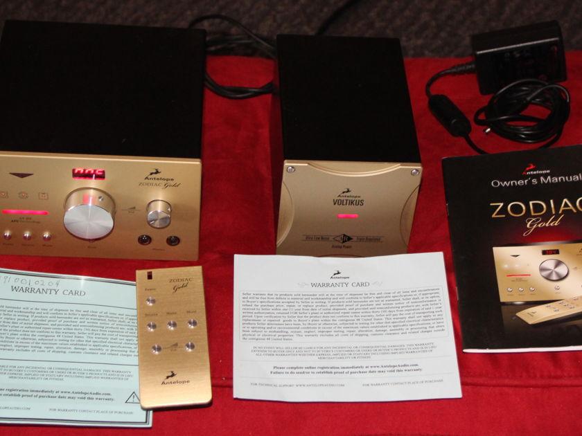 Antelope Audio Zodic Gold&Voltikus pow DAC & Best Power Sup !