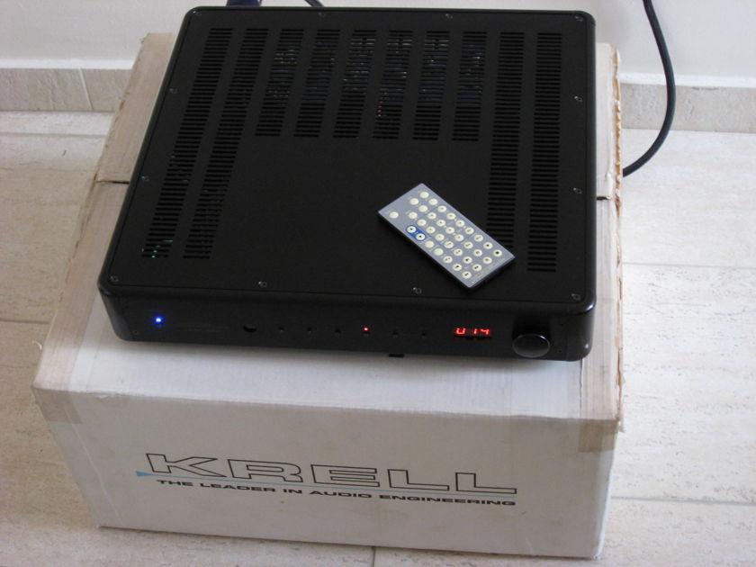 Krell  KAV-400xi  integrated amplifier in Black (240V)