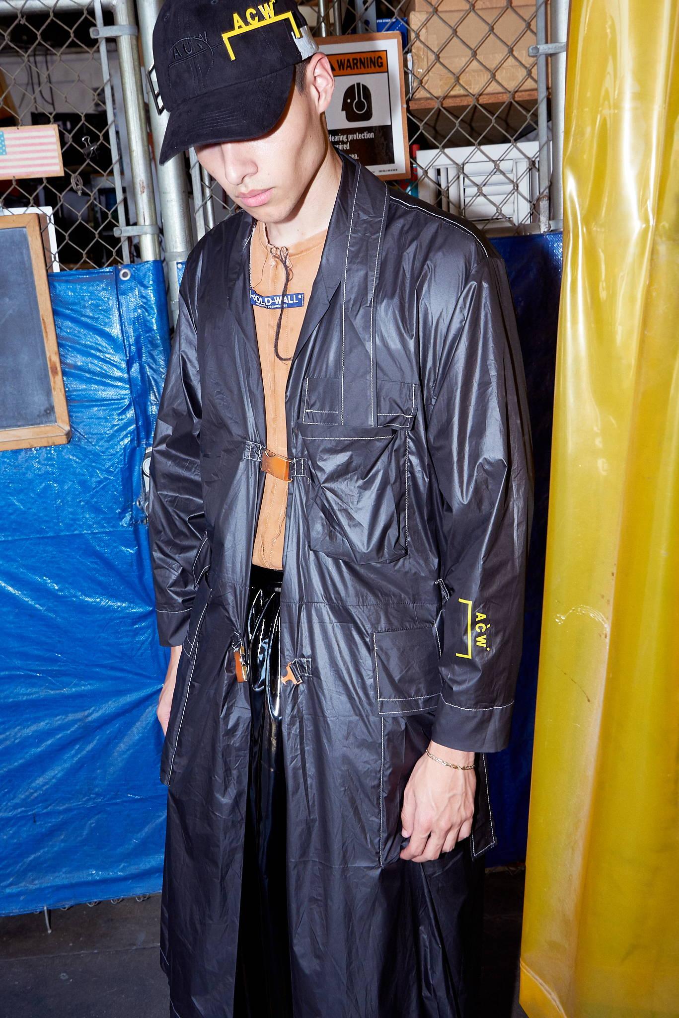 HLorenzo-ACW-Samuel Ross-black buckled coat