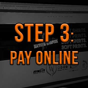 Step 3: Pay Online