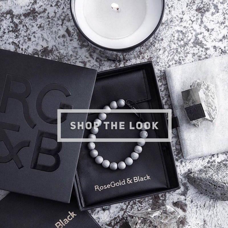 RG&B BIRTHDAY SALE  Smile Agate Bead Bracelet