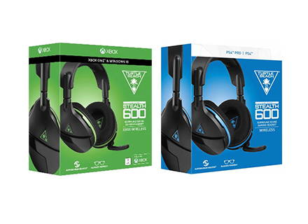2017-Turtle Beach launches the original Stealth 600 and Stealth 700 headsets