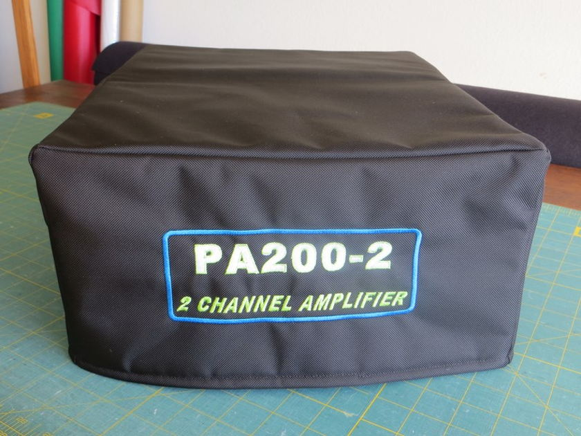 Custom dust cover RadioDustCovers.com BAT Balanced Audio Technology