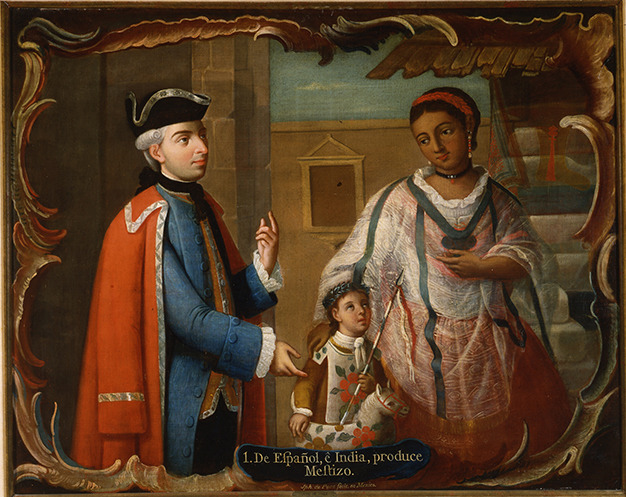 José de Paez, Castas mexicanas