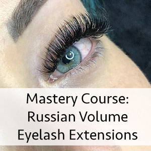 russian volume lash training