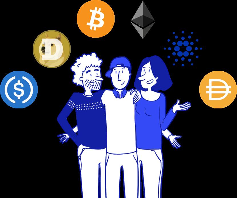 Team share crypto