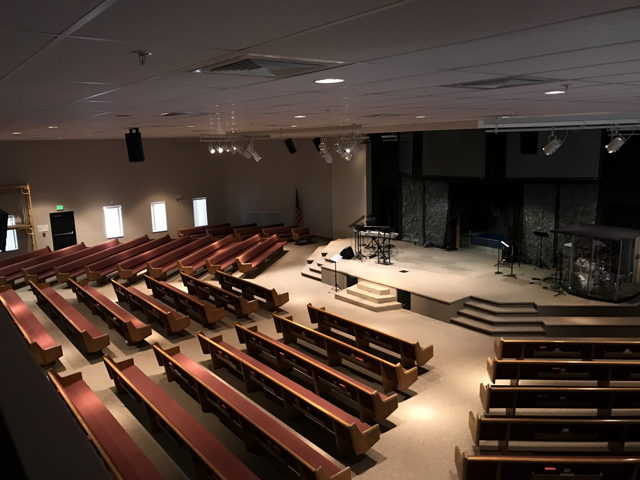 Beautiful Fully Equipped Church Space