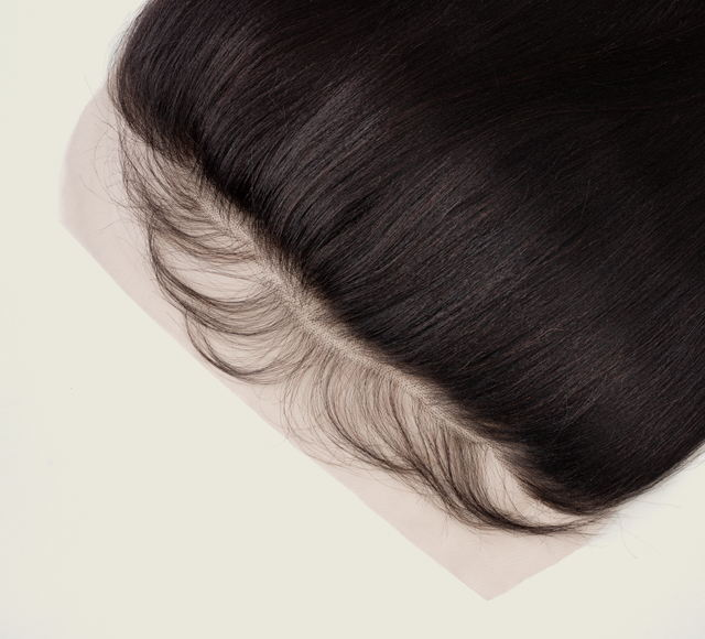 Yaki Straight Natural Black Frontals Mayvenn