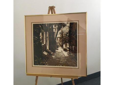 """""""Old City"""" serigraph by Luca Sacco and Robert Ehrlich"""