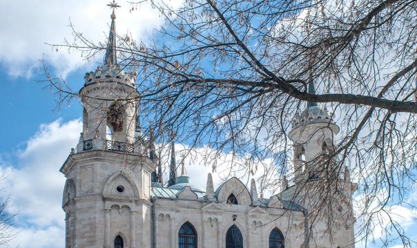Баженов. Усадьба Быково: дворец, готическая церковь и английский парк. ЭКСКЛЮЗИВ