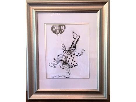 "Shirley Doiron ""Balloon Parade - Giraffe"""
