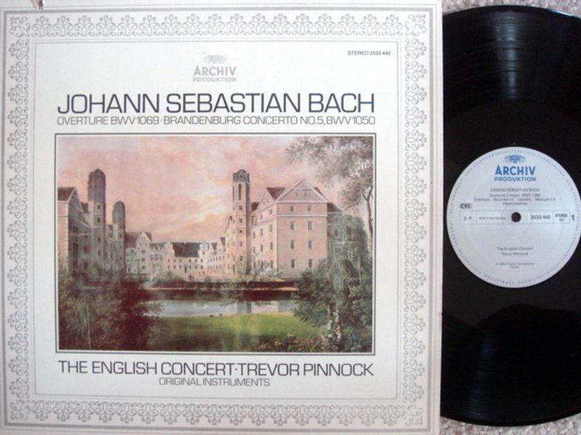 Archiv / PINNOCK, - Bach Brandenburg Concerto No.5, MINT!