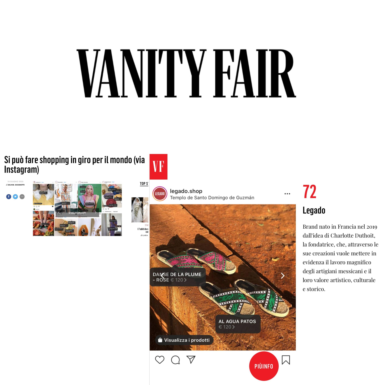 Legado dans Vanity Fair
