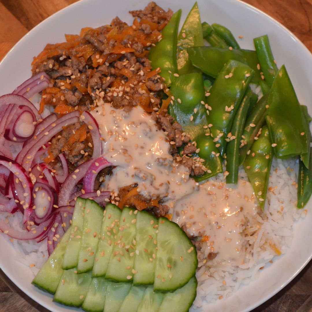 Date: 24 Jun 2020 (Wed) 151st Main: Japanese Beef Rice Bowl with Pickled Onion & Japanese Mayo [396] [162.9%] [Score: 10.0] Cuisine: Japanese Dish Type: Main