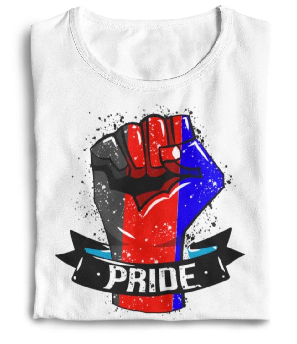 polyamory flag shirt the rainbow's brand